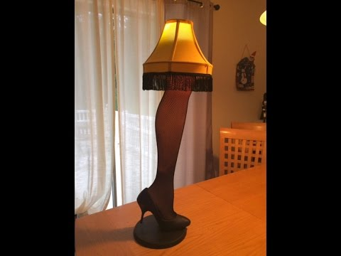 Leg Lamps From A Christmas Story.Diy Leg Lamp From A Christmas Story Simple Quick Tutorial