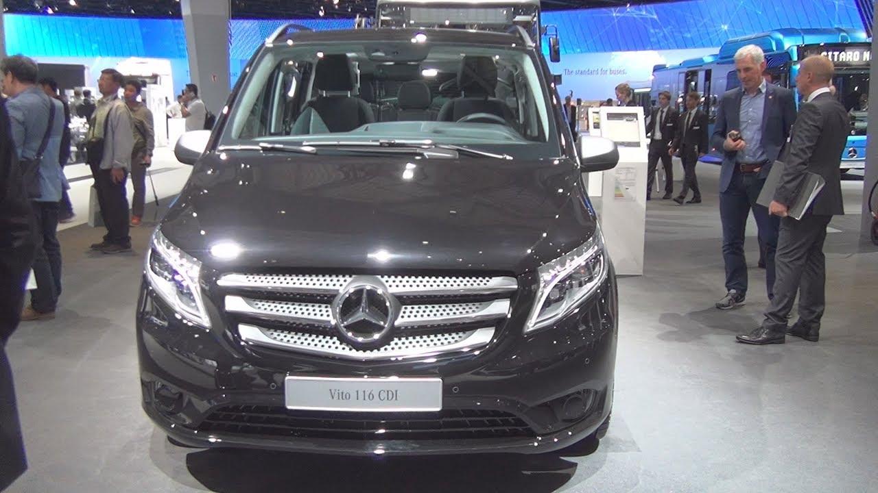 2dd9a07687 Mercedes-Benz Vito Tourer Edition 116 CDI Combi Van (2017) Exterior and  Interior