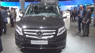 Mercedes-Benz Vito Tourer Edition 116 CDI Combi Van (2017) Exterior And Interior
