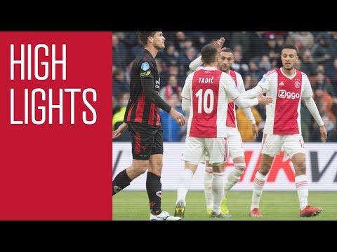 Highlights Ajax - Excelsior