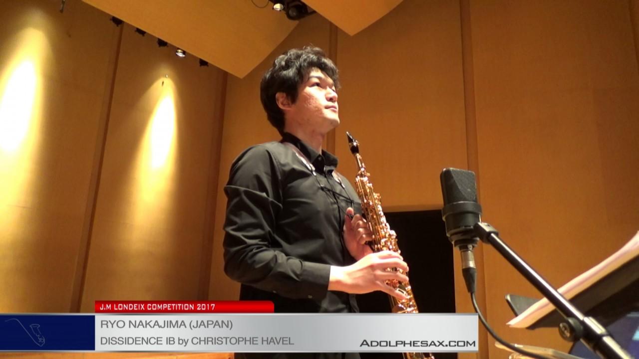 Londeix 2017 - Semifinal - Ryo Nakajima (Japan) - Dissidence Ib by Christophe Havel