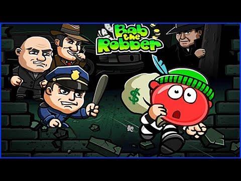 КРАСНЫЙ ШАРИК ТЕПЕРЬ ВОРИШКА БОБ мультик про ШАР RED BALL 4 Volume 5 INTO THE CAVE Robbery Bob 3