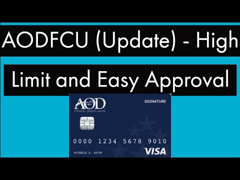 AODFCU (Update) - High Limits - Easy Approvals - Hard Pull Good For 30 Days! - Better Than NFCU?