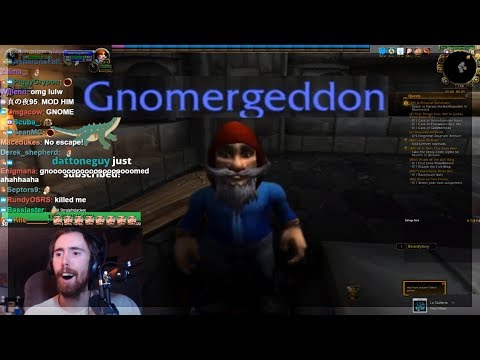 Asmongold Installs Roleplay Addon And Visits Moon Guard