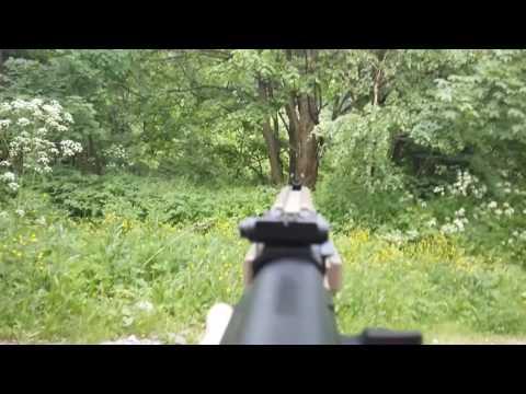ee1a27487 AIRSOFT AK-47 (SRT-9) fire test - YouTube