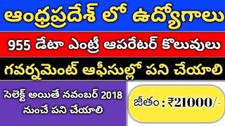 deo 955 jobs in andhrapradesh | 955 Data Entry Operator jobs in Andhrapradesh |Outsourcing jobs