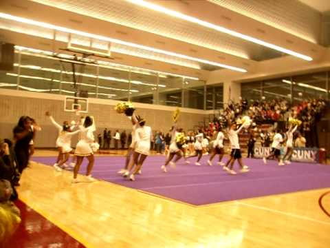 MEC Cougars Cheerleading ( Medgar Evers College ) - 2010 CUNY AC Cheerleading Championships