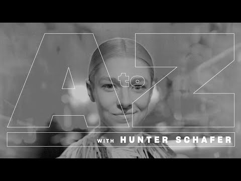 A To Z: Hunter Schafer Makes The Alphabet Her Own | Entertainment Weekly