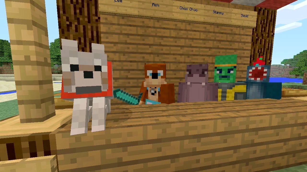 Image Result For Stampy And Squid