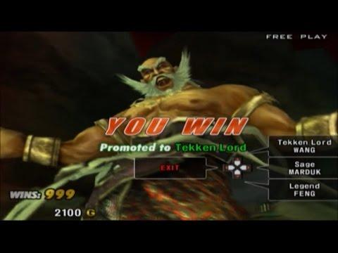 Tekken 5 Ps2 Jinpachi Human Tekken Lord Hq Youtube