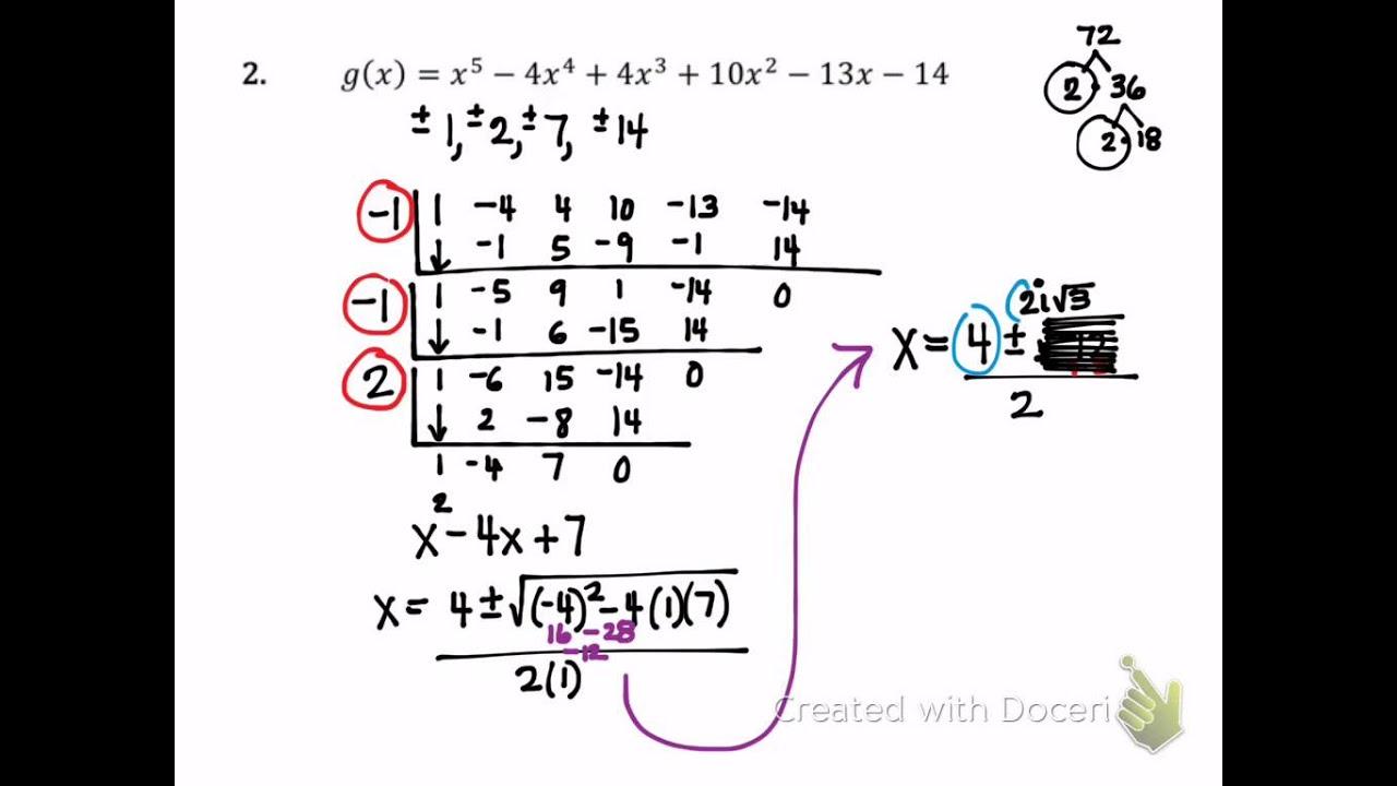 Fundamental Theorem Of Algebra 27680 Trendnet