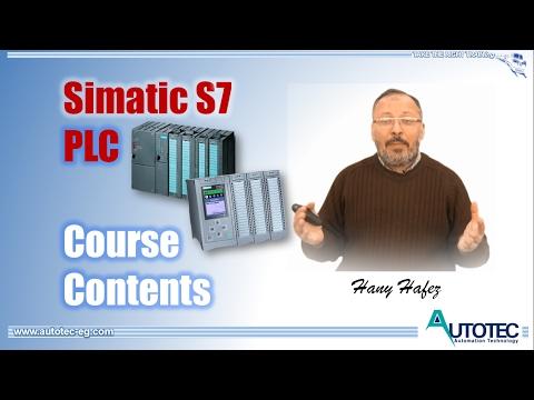 Contents of S7 PLC Courses