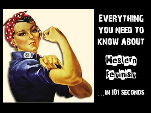 A History of Western Feminism...in 101 Seconds