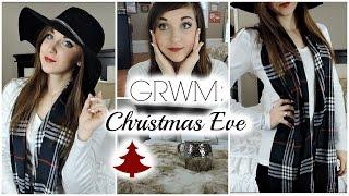 GRWM | Christmas Eve Thumbnail