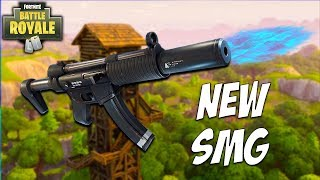 NEW Silenced SMG is OP! 10 Kill SMG ONLY Fortnite Victory in the SMG Update! Fortnite Battle Royale