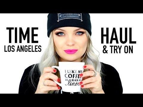 TIME LOS ANGELES HAUL & TRY ON | Brianna Fox