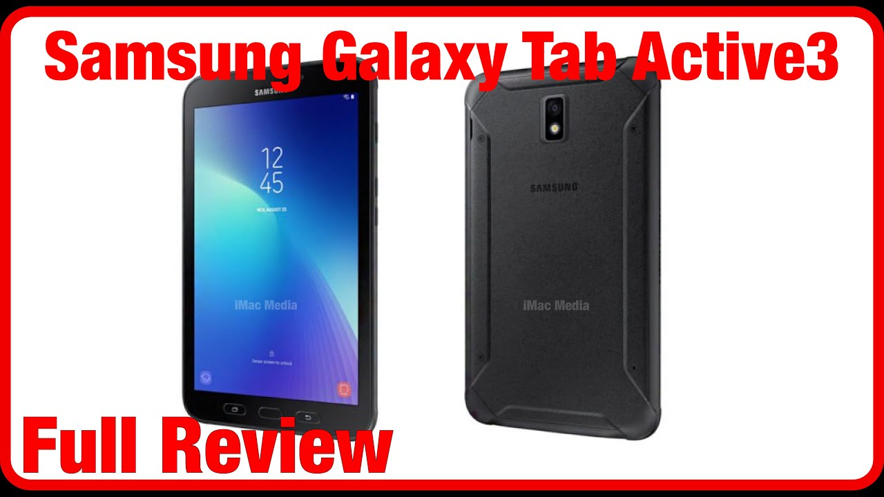 Samsung Galaxy Tab Active3 Full Review Youtube