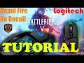 How To Get No Recoil In Any Game With A Logitech Mouse