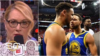 The Warriors 'played like champions' to win after Durant's injury - Doris Burke | SC with SVP