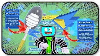 *Huge Code* + The 100 Million Porcelian Honey Dipper and Bucko Guard In Roblox Bee Swarm Simulator