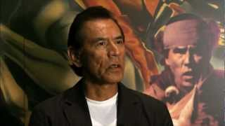 OETA Interview with Wes Studi aired on 6-15-12