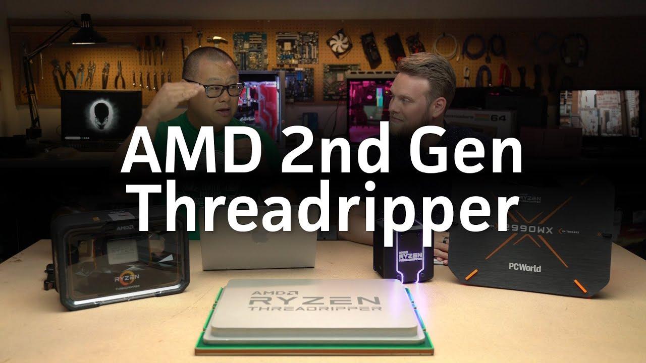 AMD 2nd Gen Ryzen Threadripper 2990WX review
