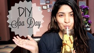 DIY Spa Day | Winter Edition | DIY Facemask, Body Scrub, Hair Mask and Detox Drink