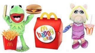 Mcdonalds con Muppet babies en español: la cerdita Peggy y el happy meal con juguetes sorpresa