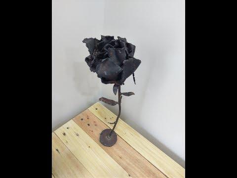 Metal rose DIY