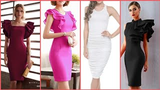 Gorgeous and beautiful stylish bodycon dresses design