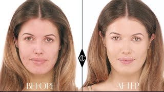 How to cover up Acne: Charlotte Tilbury Magic Foundation Makeup Tutorials
