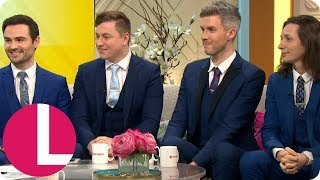 BGT Winner&#39s Collabro on Their Celebrity Fans Cliff Richard and Barry Manilow  Lorraine