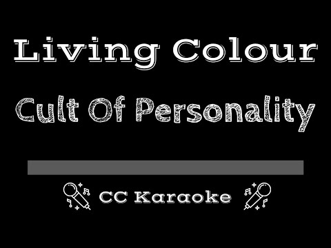 Living Color   Cult of Personality CC Karaoke Instrumental