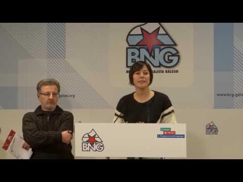 """Ana Pontón: """"Temos dereito a decidir que tipo de relacións laborais queremos na Galiza"""""""