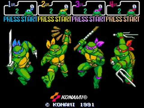 TMNT 4 Turtles in time music - Big Apple, 3 A.M.