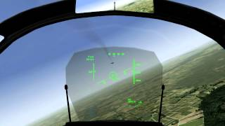 Dogfight: Saab JAS 39C Gripen vs McDonnel Douglas F-18 Hornet