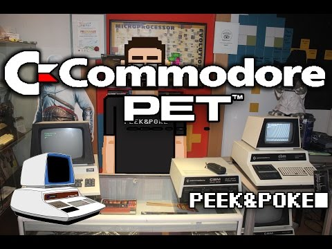 Commodore PET at The PEEK&POKE  Computer Museum