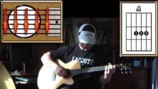 2-4-6-8 Motorway - The Tom Robinson Band - Acoustic Guitar Lesson - (easy)