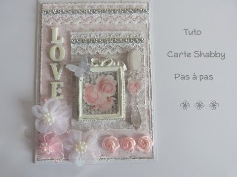 tuto carte shabby collection wedding de stamperia youtube. Black Bedroom Furniture Sets. Home Design Ideas