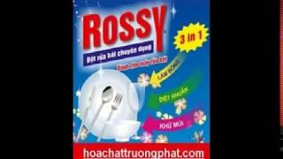 Bột rửa chén Rossy chuyên dùng cho máy rửa chén gia đình