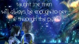 "Final Fantasy X~2 ""Real Emotion"" Lyrics (English)"