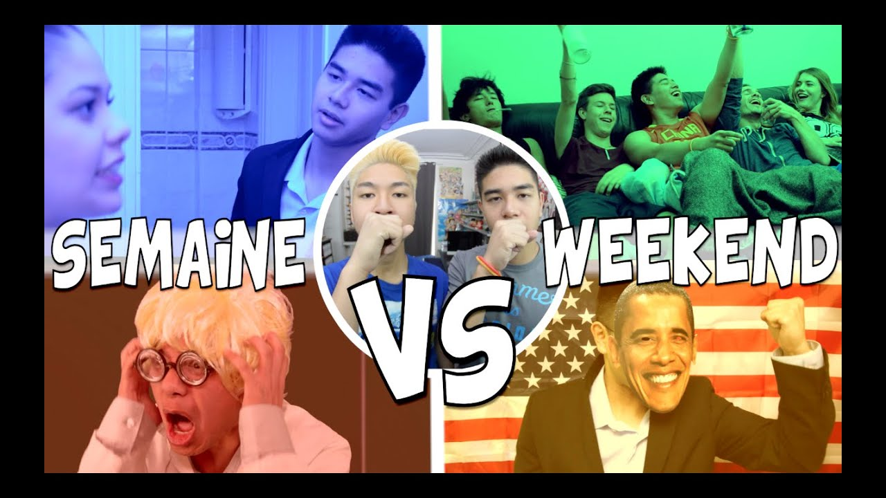 SEMAINE VS WEEKEND – LE RIRE JAUNE
