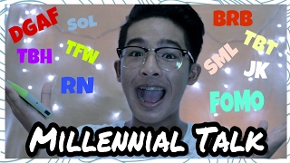 Words or Phrases that only Millennials know | Kurk Gamboa