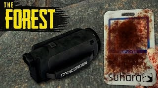 How to GET THE KEYCARD & CAMCORDER! The Forest Tutorial