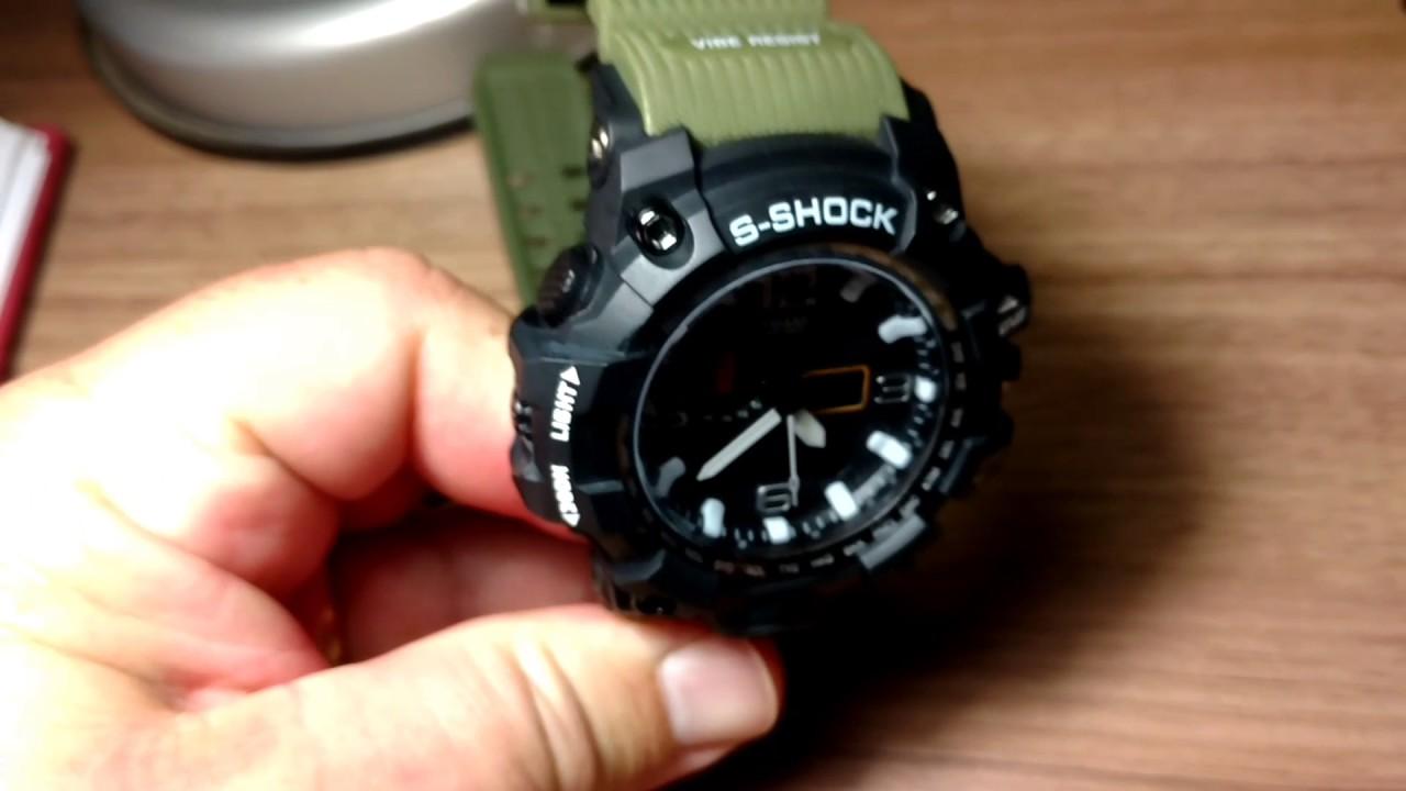 a9cac858959 Relógio Smael S Shock Mudmaster Modelo 1545 - YouTube