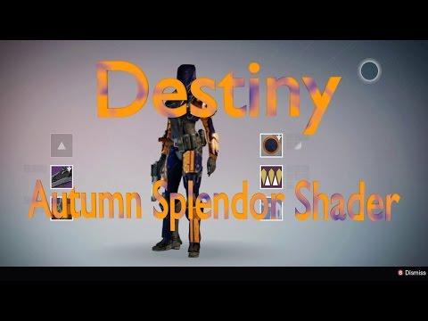 Autumn Splendor Shader, Destiny