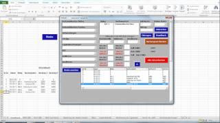 Bestandsorientierte Buchung von Bezugskosten und Nachlässen Bezugspreis Buchführung mit Excel