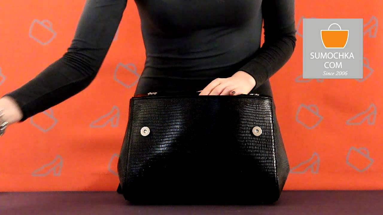 fc0282c5ba39 Классическая сумка Afina 213 gloss python black – Россия, черного цвета,  натуральная кожа. Купить в интернет-магазине в Москве и всей России. Цена  5300 руб.