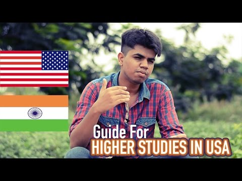 How to Apply For Higher Studies In USA From India | Guide By Avinash | Tanglish