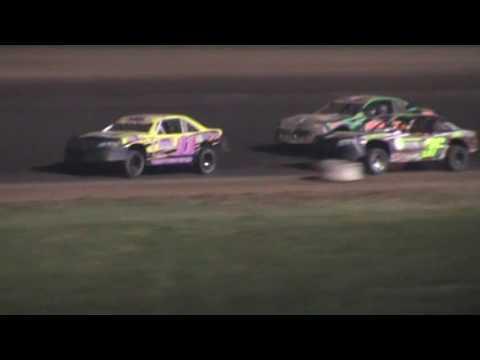 IMCA Stockcar Feature Oshkosh Speedzone Oshkosh Wisconsin 6/24/16